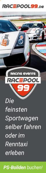 Mit Racepool99.de die feinsten Sportwagen selber fahren oder als Beifahrer im Renntaxi erleben.